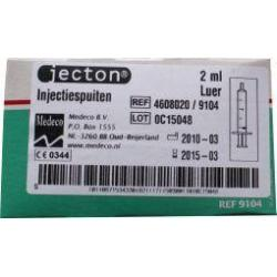 Injectiespuit 2ml