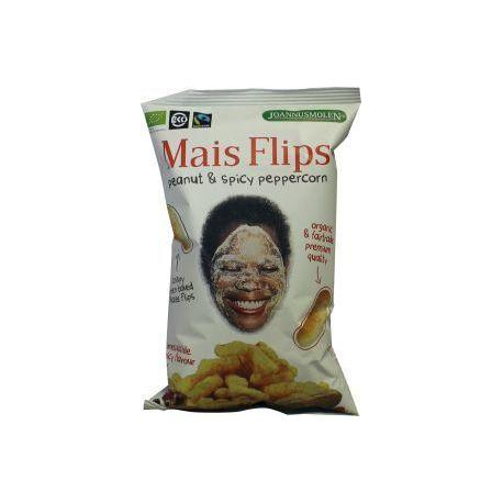 Mais flips peanuts spicy peppercorn fairtrade