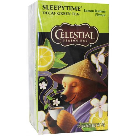 Decaf sleepytime green tea lemon jasmine