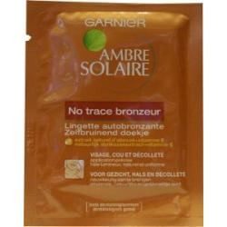 Ambre solaire no trace face wipes